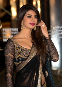 Bollywood actresses in sarees: Priyanka