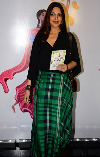 Sonali Bendre at the book launch