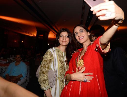 Twinkle Khanna and Farah Khan Ali