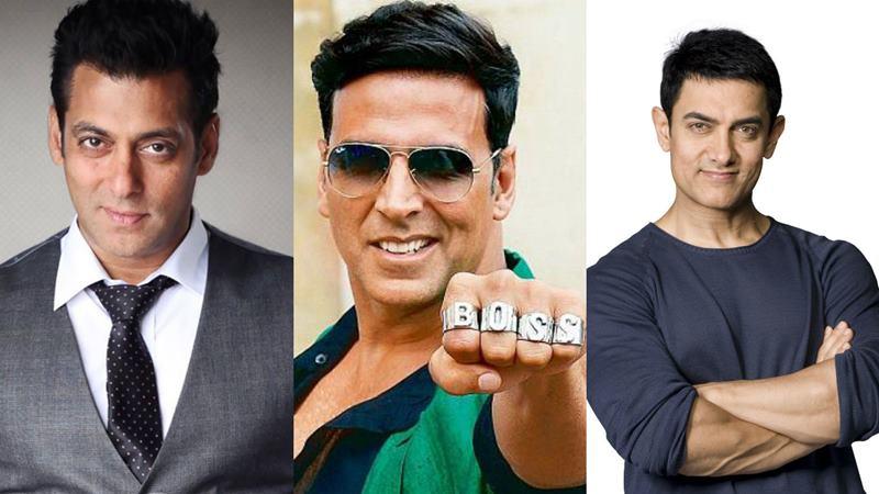 Salman Khan, Aamir Khan and Akshay Kumar are the box office kings of 2016!