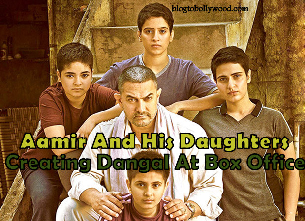 Aamir Khan's Dangal creating Dangal at Box Office.