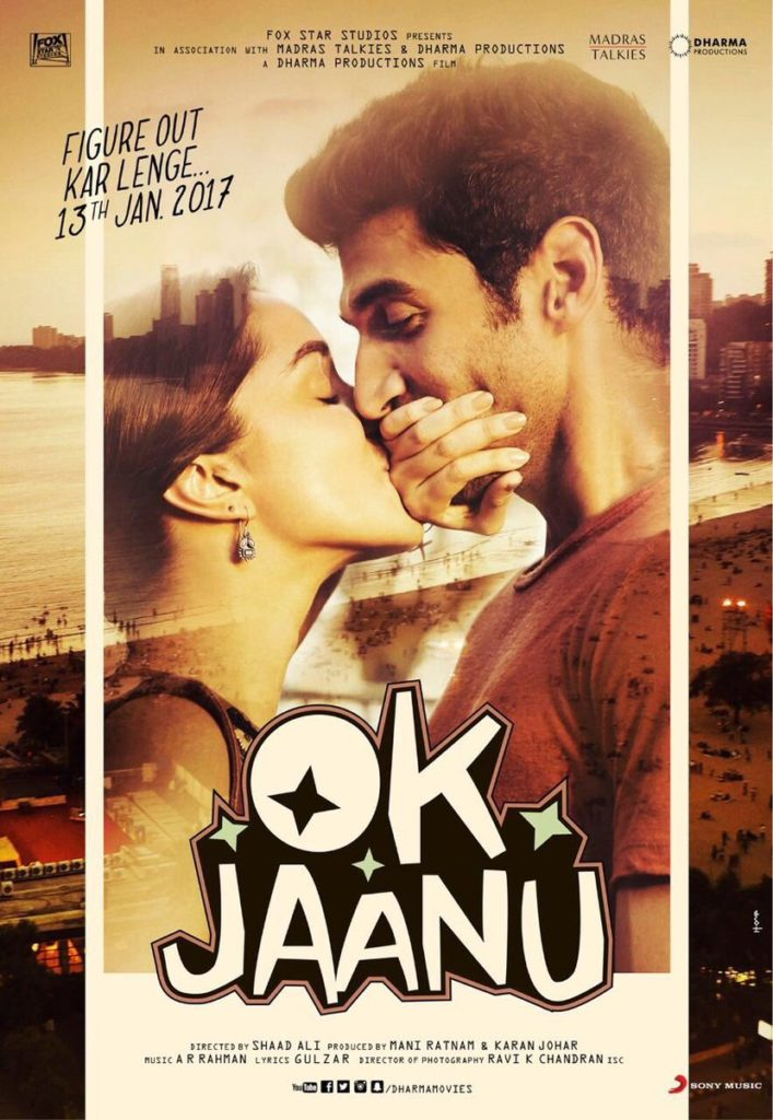 First Look Of Ok Jaanu feat. Shraddha Kapoor and Aditya Roy Kapur