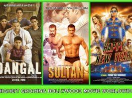 Highest Grossing Bollywood Movies Worldwide | Top Worldwide Bollywood Grossers