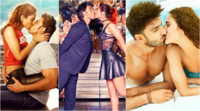 Hottest Bollywood Kisses Of 2016- Ranveer and Vaani in Befikre