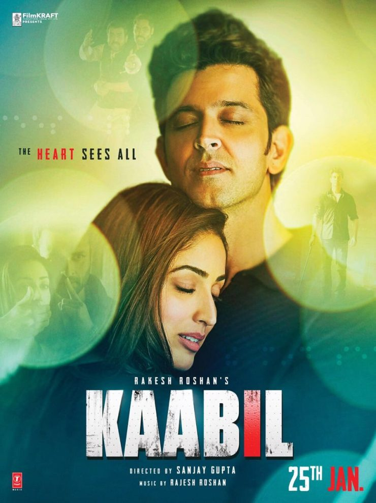 Kaabil New Poster: The Heart Sees All