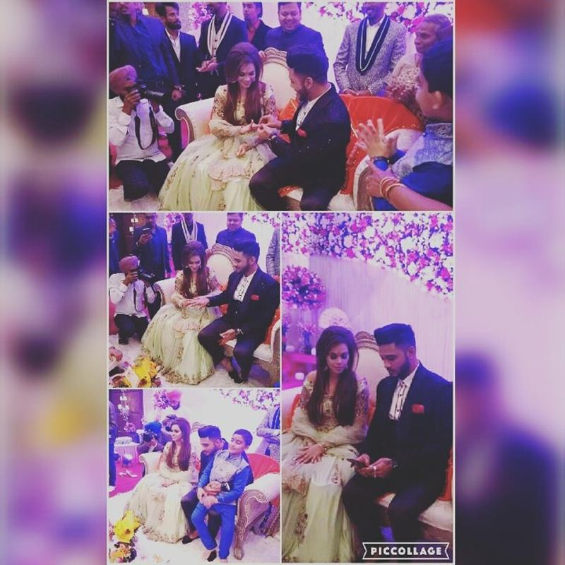 Pictures Inside | The wedding season continues with Raftaar-Komal Vohra's wedding!- Raftaar-Komal 1