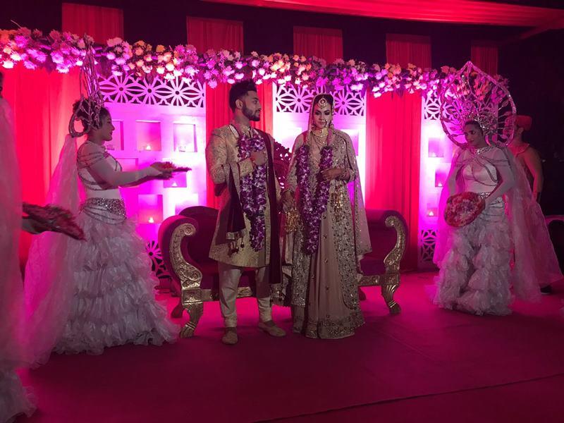 Pictures Inside | The wedding season continues with Raftaar-Komal Vohra's wedding!- Raftaar-Komal 2