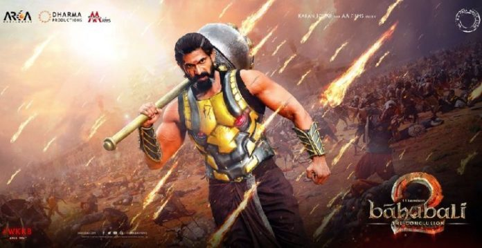 Rana Daggubati's Fierce Look From Baahubali 2