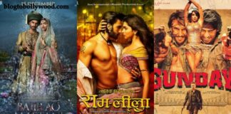Ranveer Singh's Top 10 Opening Day Grossers: Ram-Leela at the top followed by Gunday, Bajirao Mastani and Befikre.