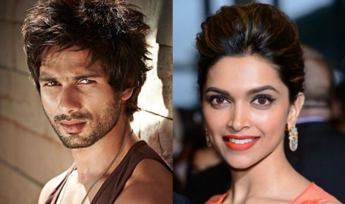 Shahid Kapoor And Deepika Padukone Gets Standing Ovation From SLB