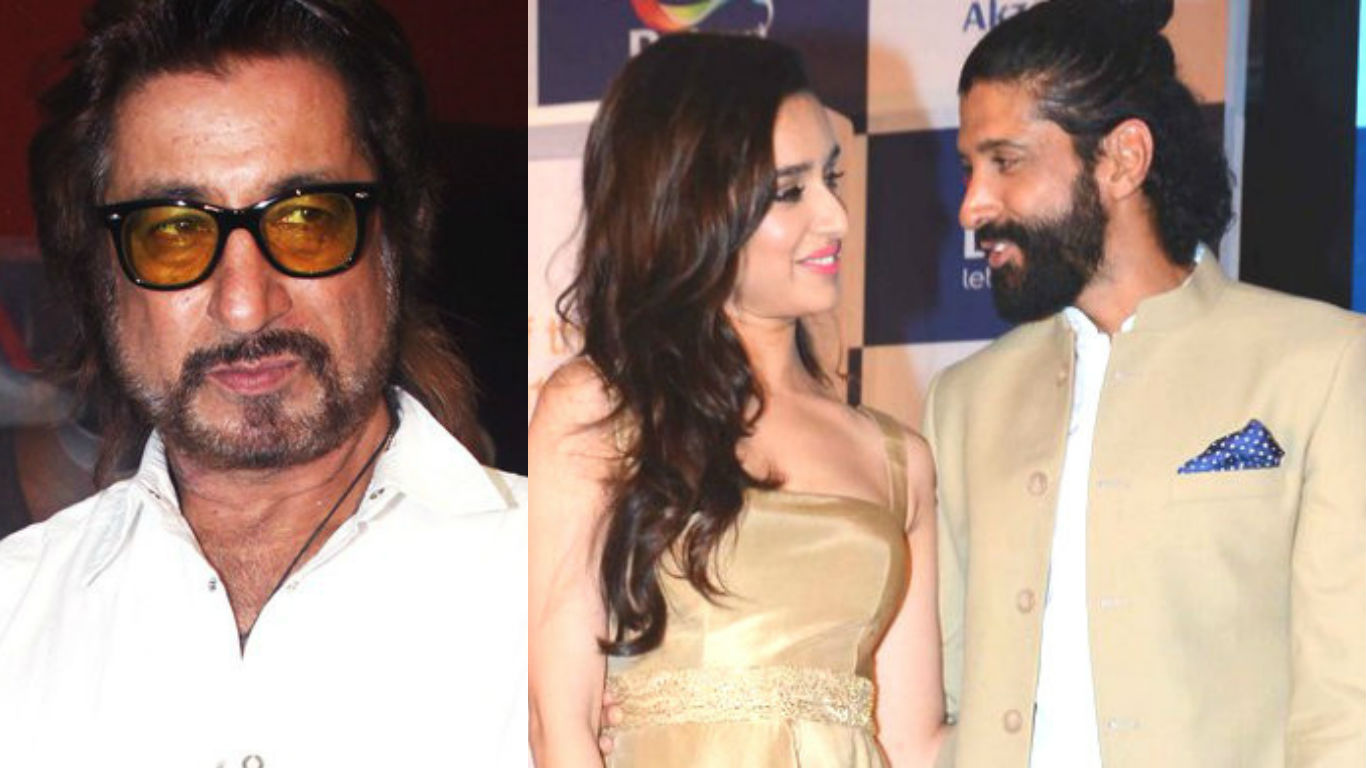 Why did Shakti Kapoor force Shraddha Kapoor to leave Farhan Akhtar's house?