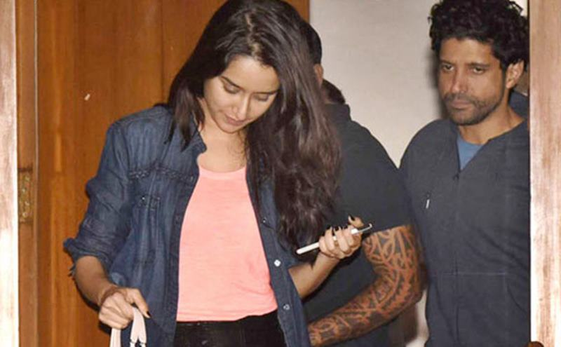 Why did Shakti Kapoor force Shraddha Kapoor to leave Farhan Akhtar's house?- Shraddha and Farhan