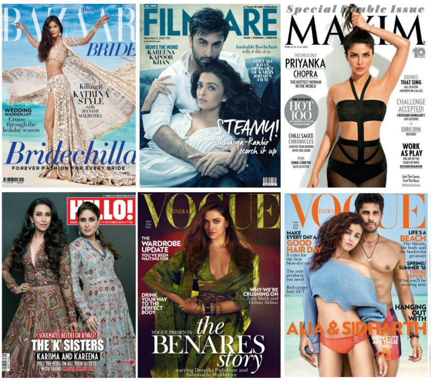 Top 10 Magazine Covers of Bollywood that raised the glam quotient in 2016!