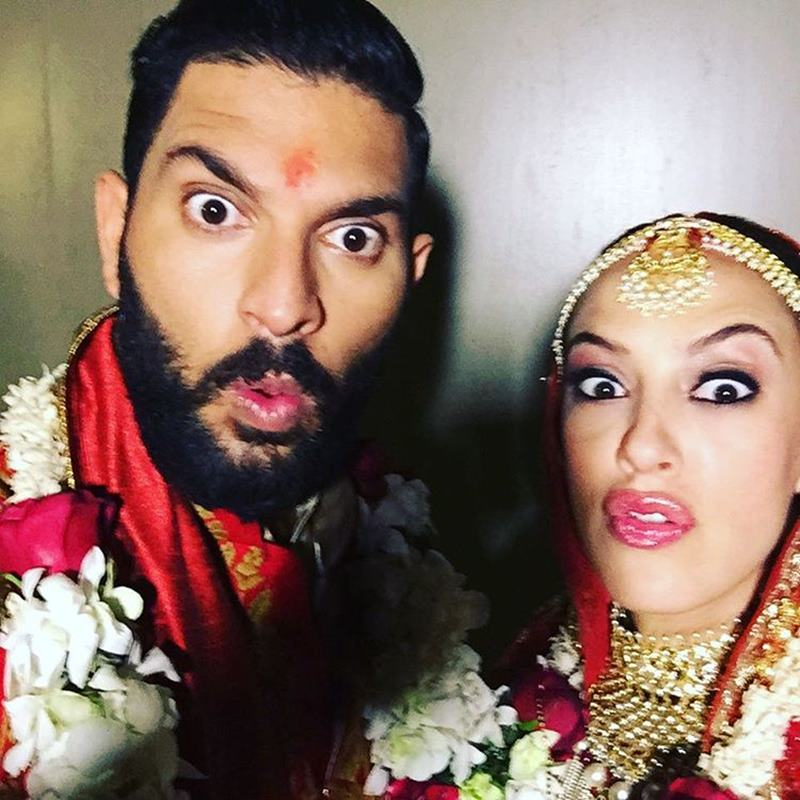 Yuvraj Singh-Hazel Keech's wedding was a grand event, these pictures are proof of it!- Yuvi-Hazel 21