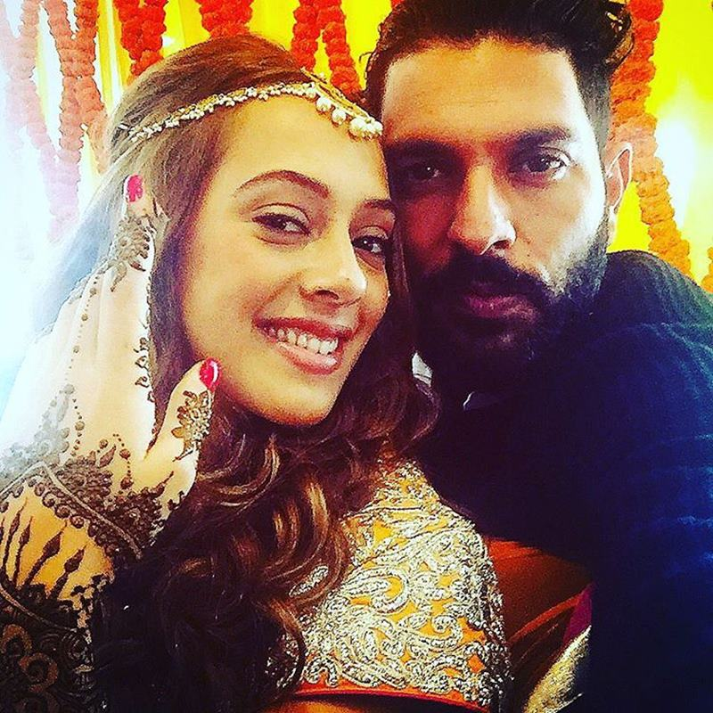 Yuvraj Singh-Hazel Keech's wedding was a grand event, these pictures are proof of it!- Yuvi-Hazel 22