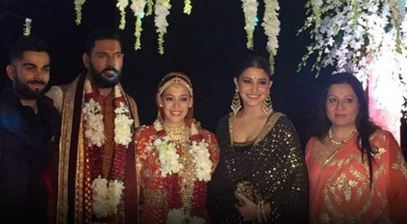 Yuvraj Singh-Hazel Keech's wedding was a grand event, these pictures are proof of it!- Yuvi-Hazel 25