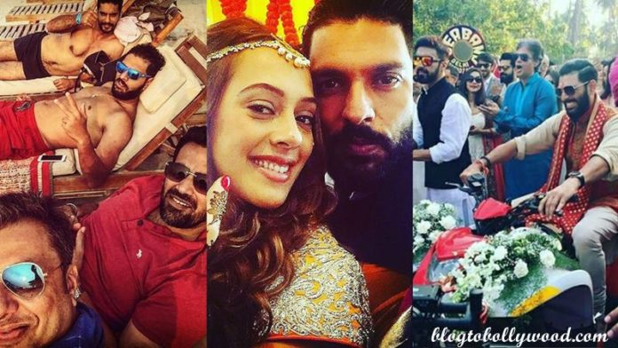 Yuvraj Singh-Hazel Keech's wedding was a grand event, these pictures are proof of it!