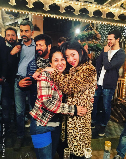 Chinese actress Zhu Zhu wraps up Tubelight 2