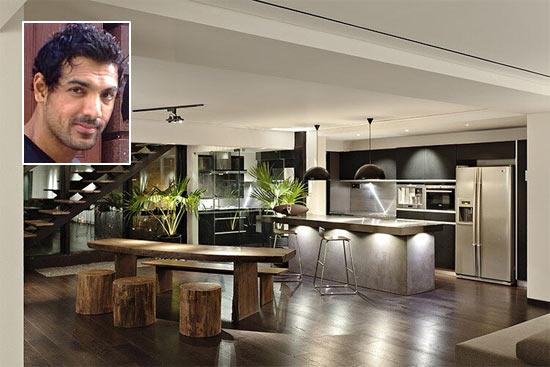 He has a stunning Villa in Mumbai