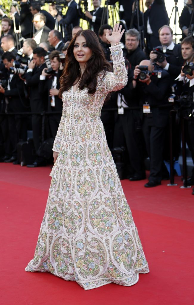 International red carpet appearances by Bollywood actresses: Aishwarya