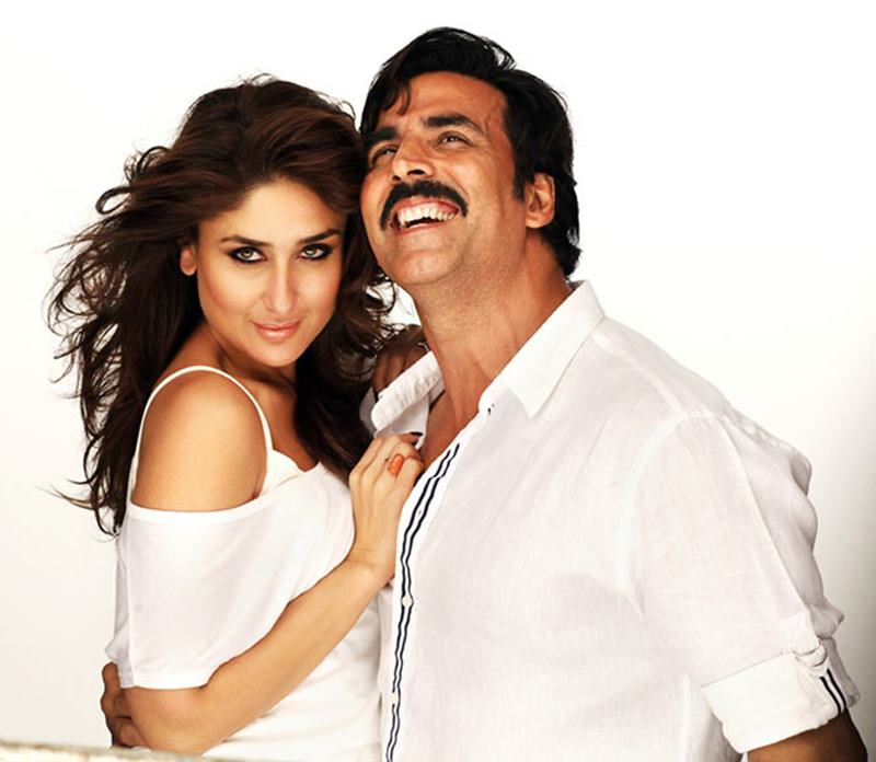 Co-actresses Akshay Kumar looks best with!- Akki Kareena