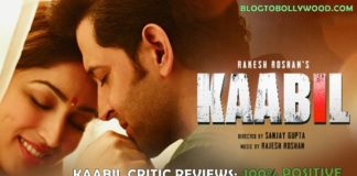 Kaabil Movie Review: Kaabil Critics Reviews & Ratings, Huge Applause From Critics