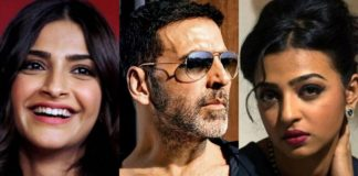Padman star cast - Akshay Kumar, Sonam Kapoor and Radhika Apte
