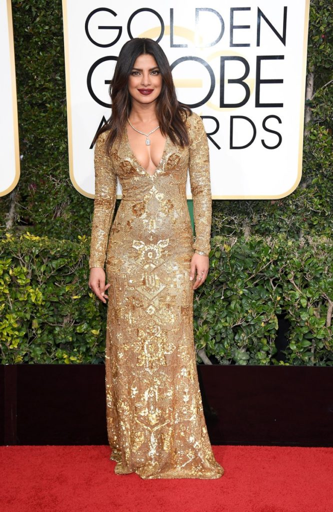 International red carpet appearances by Bollywood actresses: Priyanka