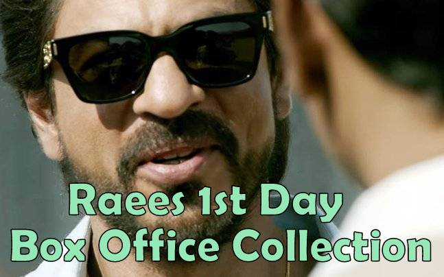 Raees 1st Day Collection: First Friday Box Office Collection Report