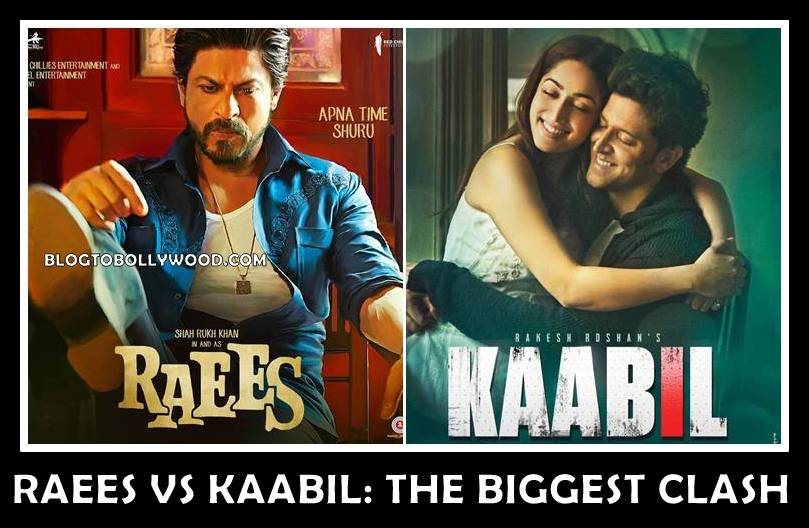 Raees Vs Kaabil Clash On 25 Jan 2017