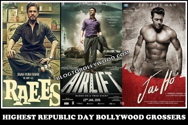 Highest Republic Day Grossers Of Bollywood: Padmaavat, Raees, Jai Ho And Agneepath
