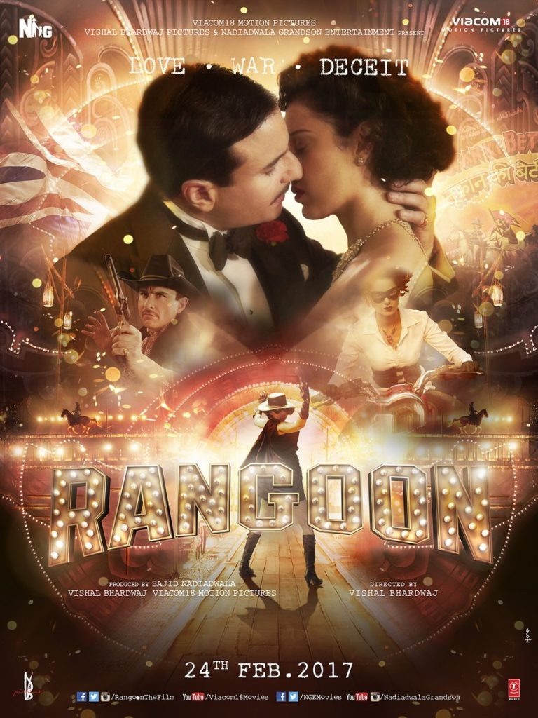 Rangoon 2nd poster