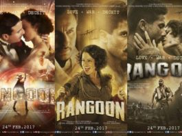 Rangoon Movie Posters