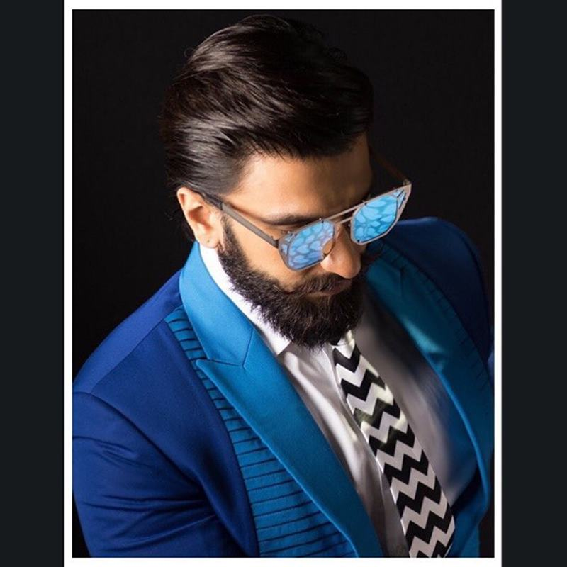 These pictures of Ranveer Singh prove that his beard game is on point!- Ranveer Beard 1