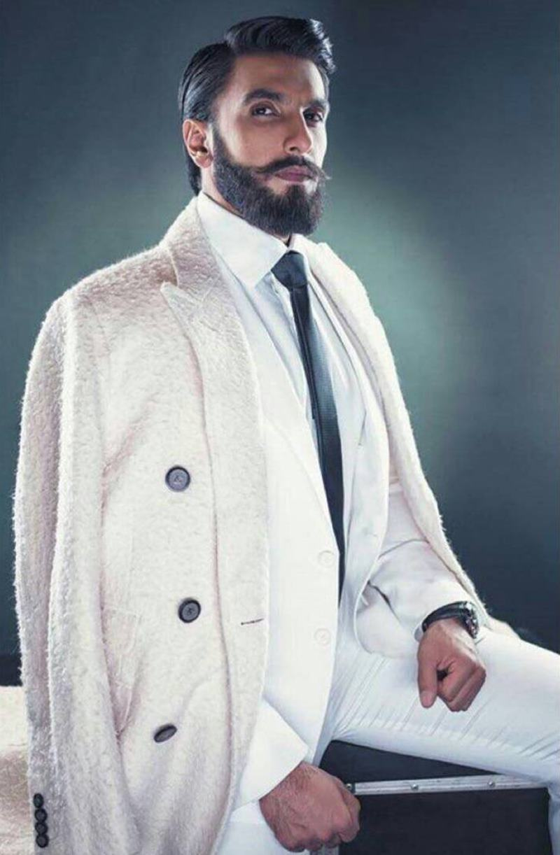 These pictures of Ranveer Singh prove that his beard game is on point!- Ranveer Beard 3