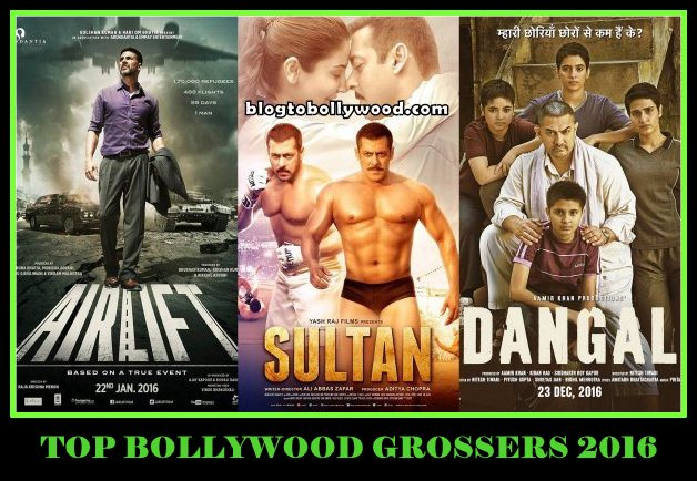 Top Bollywood Grossers 2016: Aamir Khan, Salman & Akshay Tops The List