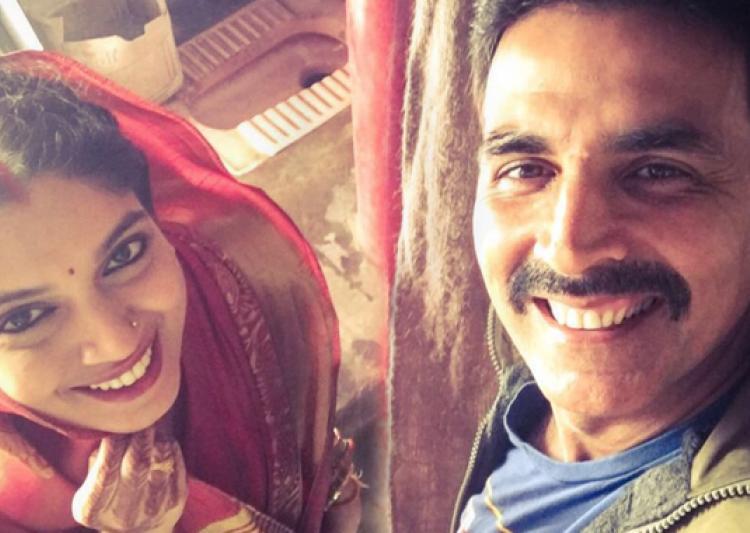 Pics: Akshay Kumar On The Sets Of of 'Toilet: Ek Prem Katha'