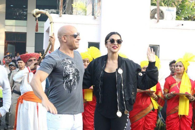 Vin Diesel Arrives In India With Deepika Padukone 3