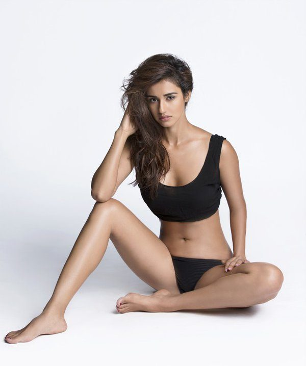 disha patani in black bikini