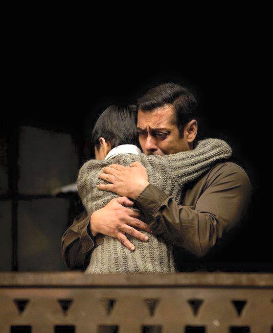 Salman Khan and His Young Co-star Matin Rey Tangu