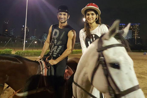 Pic 10: Sushant Singh Rajput And Kriti Sanon's Growing Friendship