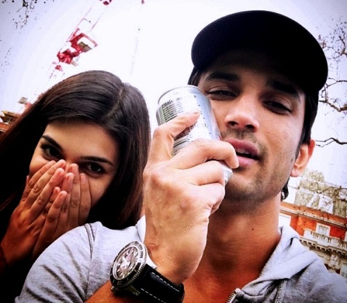 Pic 8: Sushant Singh Rajput And Kriti Sanon's Growing Friendship