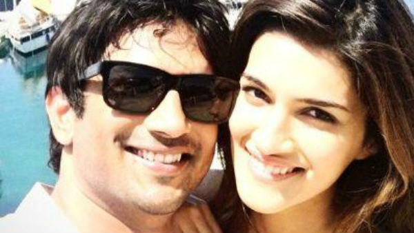 Pics : Sushant Singh Rajput And Kriti Sanon's Growing Friendship