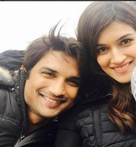 Pic 6: Sushant Singh Rajput And Kriti Sanon's Growing Friendship