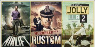 Akshay Kumar's 100 Crore Movies: From Jolly LLB 2 to Rowdy Rathore
