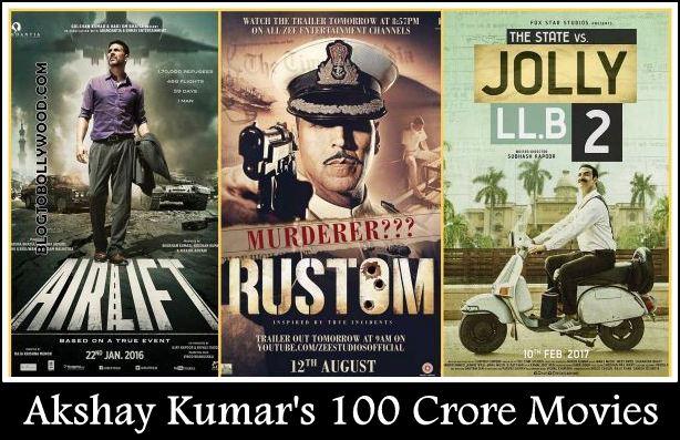 From Jolly LLB 2 to Rustom | List Of Akshay Kumar's 100 Crore Movies