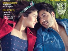 Alia Bhatt and Varun Dhawan on Filmfare cover are so much in love!
