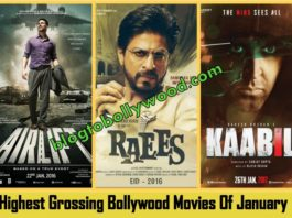 Highest Grossing Bollywood Movies Of January