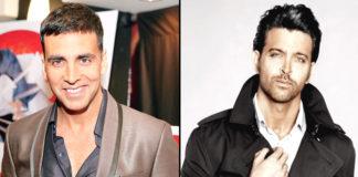 Hrithik Roshan and Akshay Kumar
