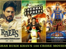 Shah Rukh Khan's 100 Crore Movies, SRK's Movies In 100 Crore Club